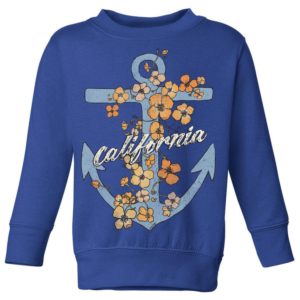 Anchor Poppies Royal Toddlers Sweater-CA LIMITED