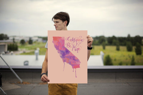 California Be Mine Poster