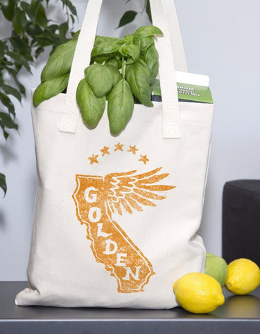 California Golden Wing Tote