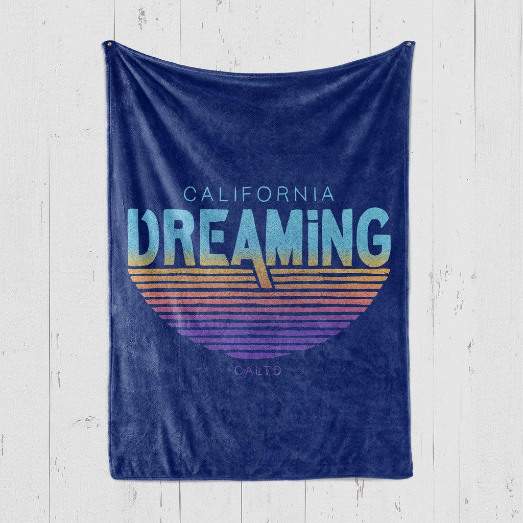 California Dreaming Blue Blanket-CA LIMITED
