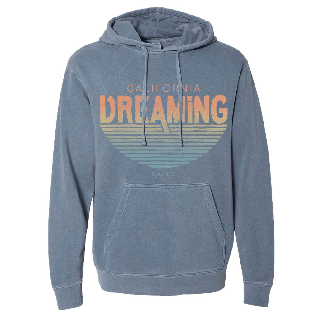 California Dreaming Light Blue Hoodie-CA LIMITED
