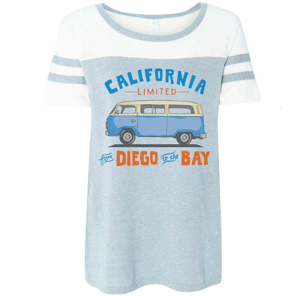 Diego to the Bay game day dolman-CA LIMITED