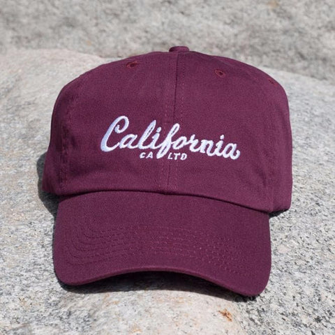 California Limited California Script Dad Hat (5 Colors)