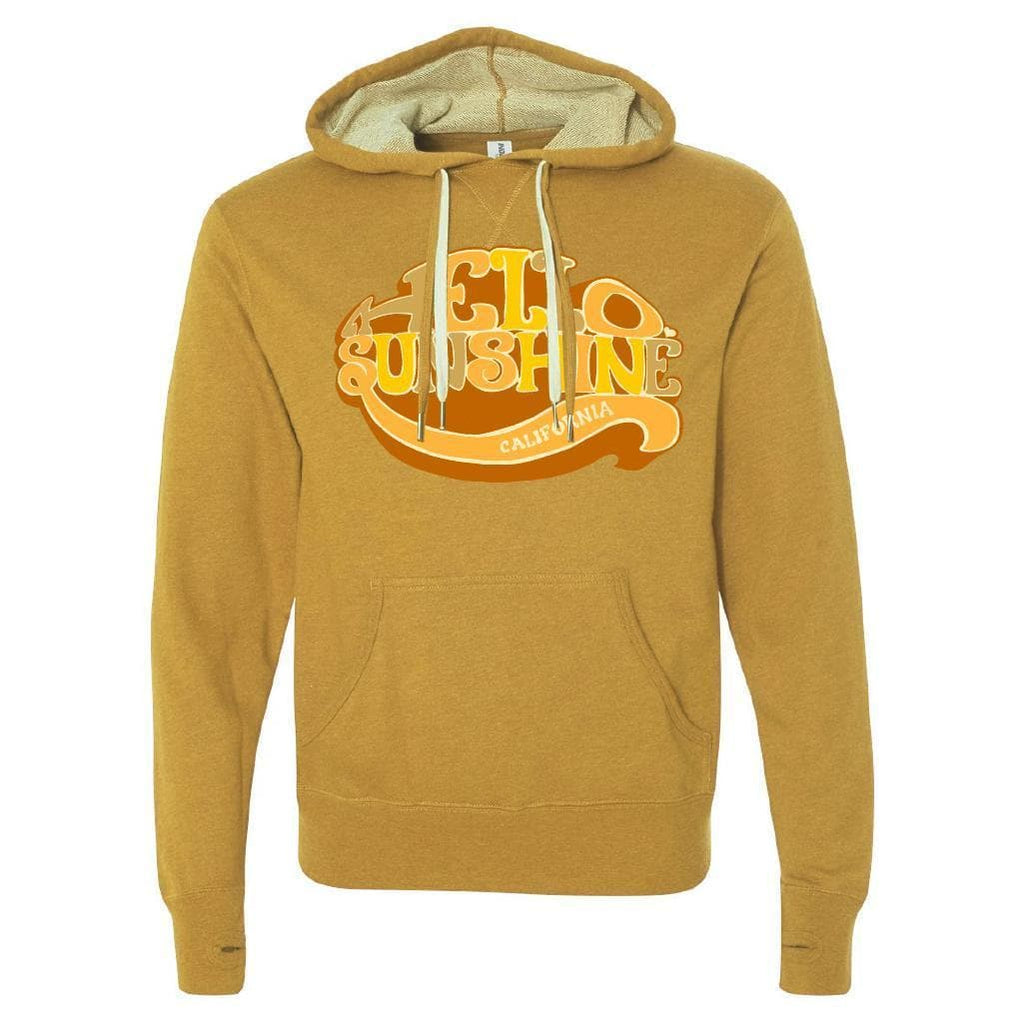 Hello Sunshine Gold Wheat Hoodie-CA LIMITED