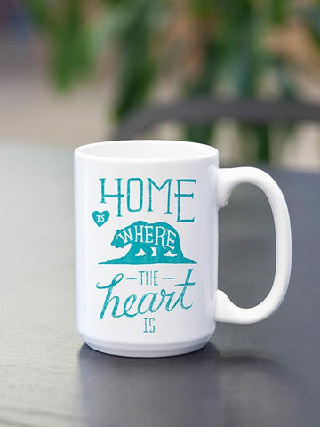 Home is where the Heart is - Mug