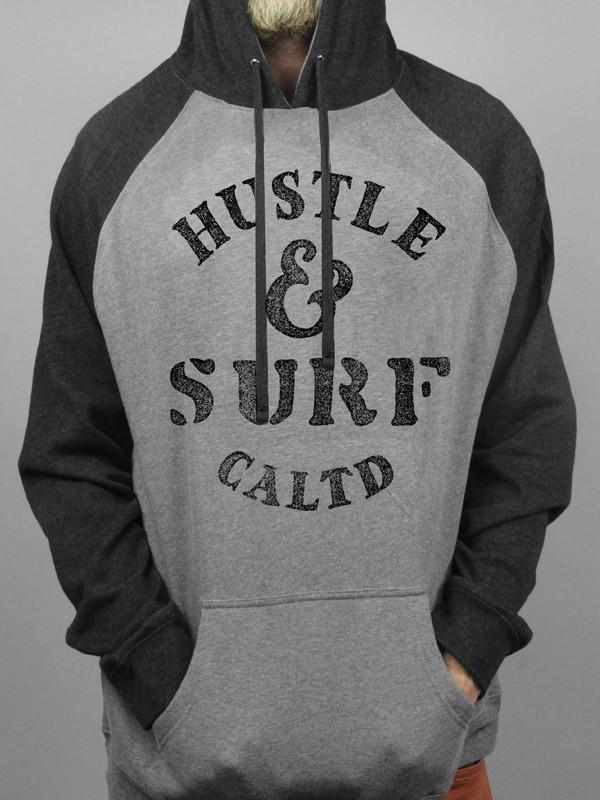 Hustle and Surf Pullover