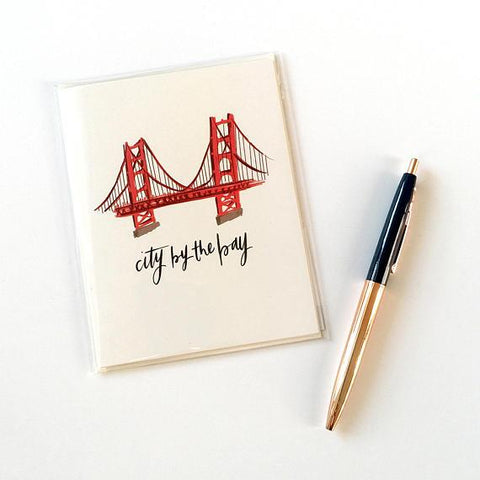 Golden Gate Notecard