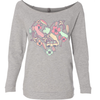 California Heart Medley Raglan Sweater