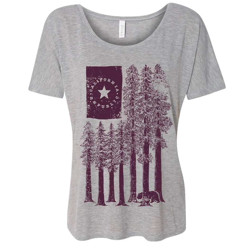 Redwood Trees grey dolman-CA LIMITED
