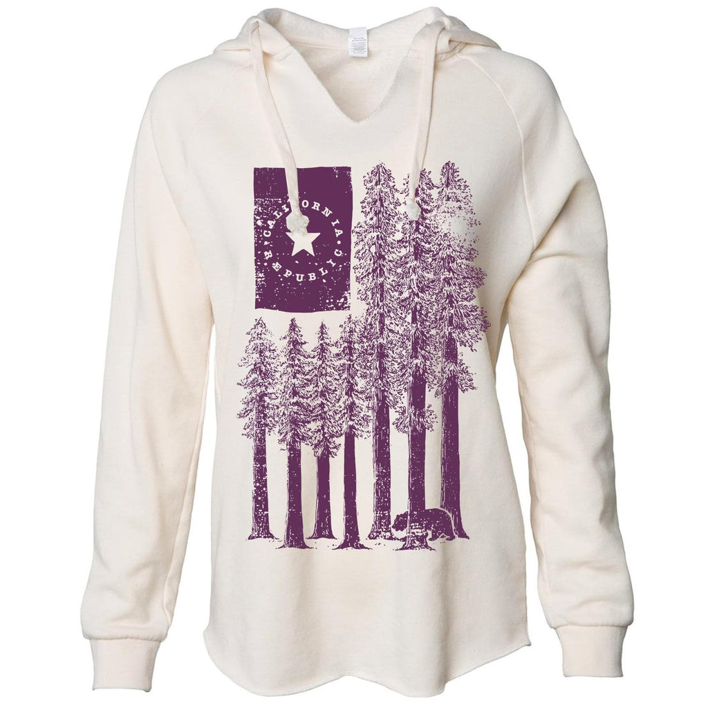 Redwood Trees ivory tunic-CA LIMITED