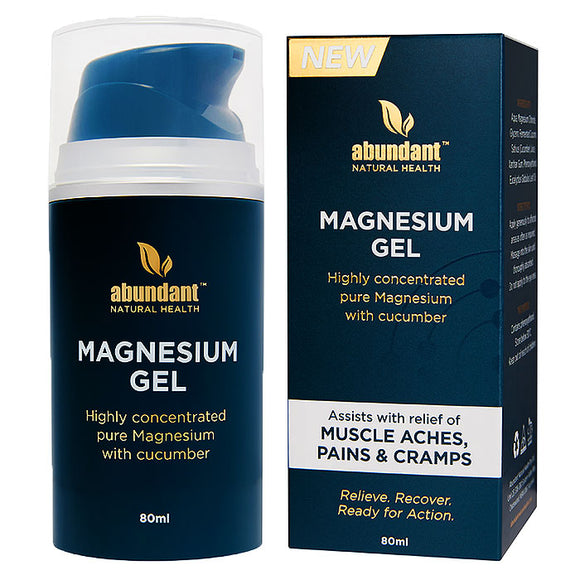 Abundant Magnesium Ache Relief Gel 80mL