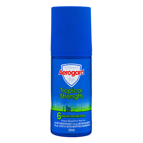 Aerogard Tropical Strength Insect Repellent Roll-on 50mL