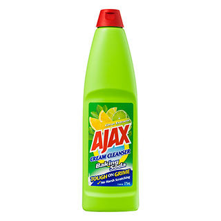 Ajax Cream Cleanser Baking Soda 375mL Citrus Extracts