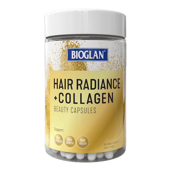 Bioglan  Hair Radiance + Collagen 90 capsules