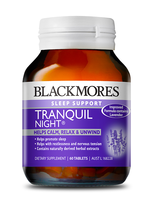 Blackmores Sleep Support Tranquil Night 60 Tablets