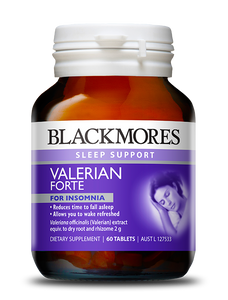 Blackmores Sleep Support Valerian Forte 30 tablets