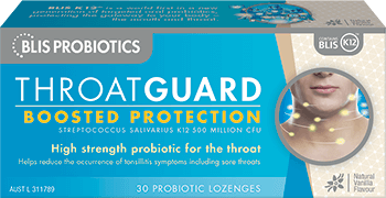 Blis Probiotics Throat Guard Lozenges 30