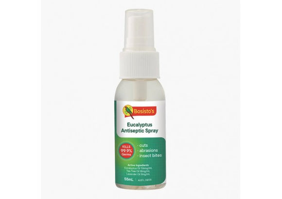 Bosisto's Eucalyptus Antiseptic Spray 55mL