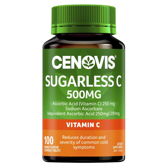 Cenovis Sugarless C 500mg Vitamin C Tablets