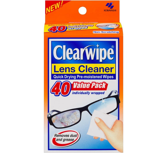 Clearwipe Lens Cleaner 40 Value Pack