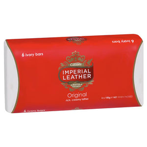 Cussons Imperial Leather Original 6x100g bars