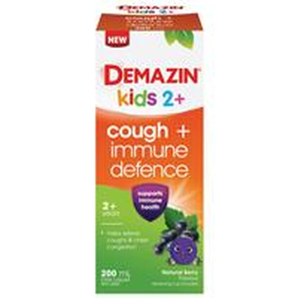 Demazin Kids Cough and Immune Defence 200ml