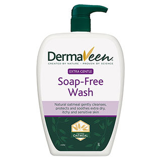 Dermaveen Soap-Free Wash (Extra Gentle) 1L