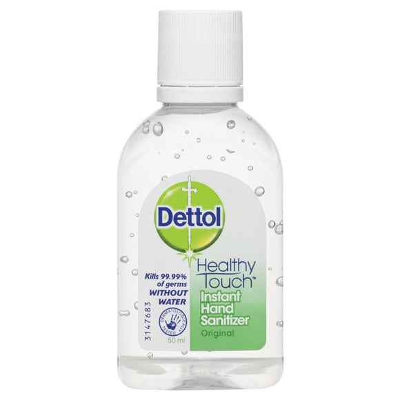 Dettol Healthy Touch Instant Hand Sanitizer original 50ml