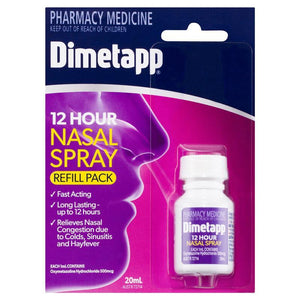 Dimetapp 12 Hour Nasal Spray Refill Pack 20mL