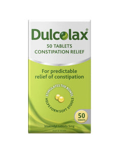 Dulcolax 50 Tablets
