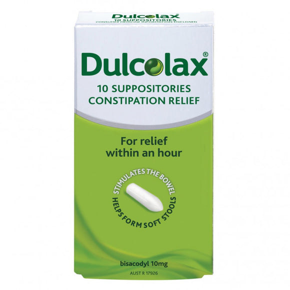 Dulcolax Suppositories 10