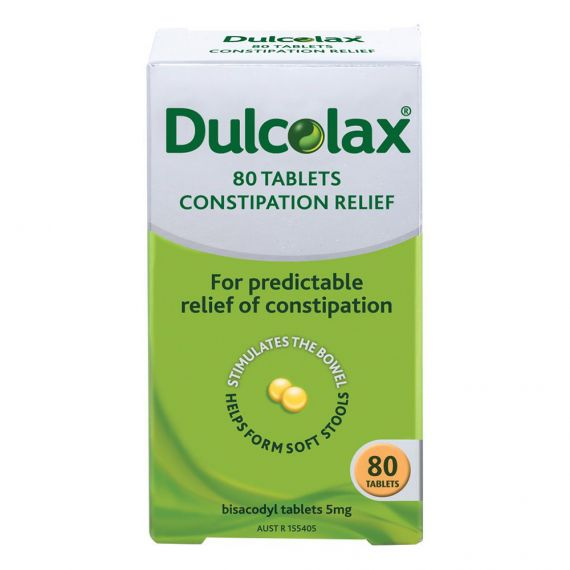Dulcolax Tablets 80 Tablets