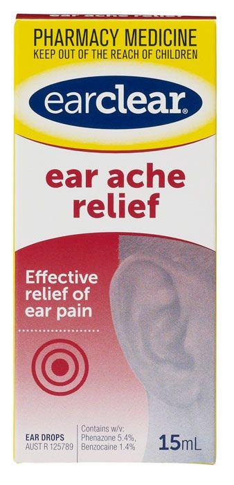 Earclear Ear Ache Relief 15mL