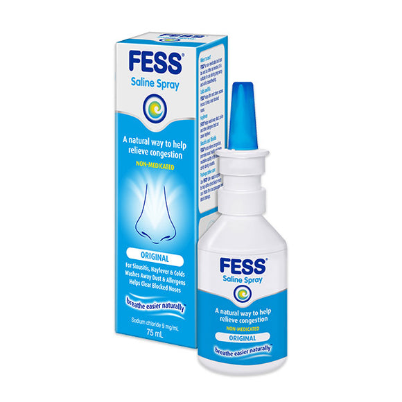 Fess Saline Spray Original 75ml