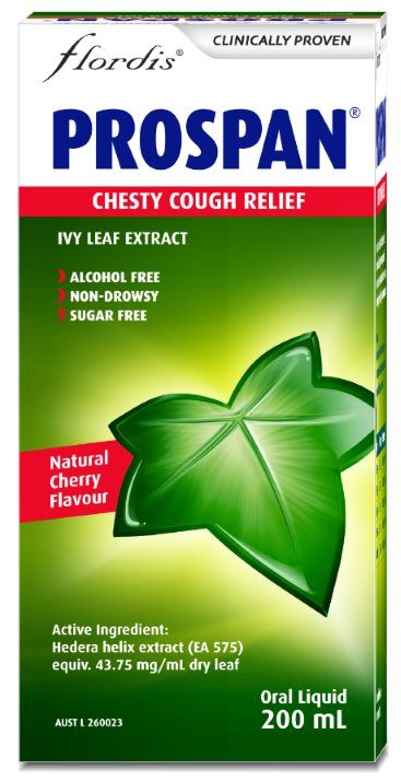 Flordis Prospan Chesty Cough relief 200ml