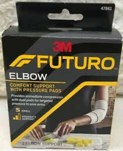 Futuro Elbow Comfort Support with Pressure Pads Small