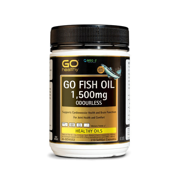 GOHealthy Fish Oil 1500mg 210 capsules