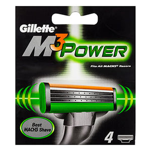 Gillette Mach3 Power 4 Cartridges