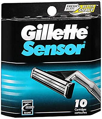 Gillette Sensor 10 Cartridges