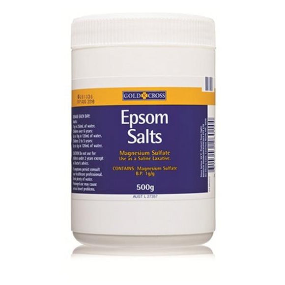 Gold Cross Epsom Salts 500g