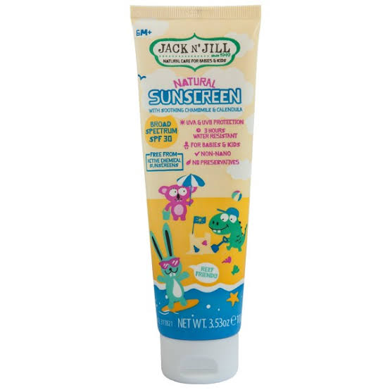 Jack n' Jill Kids Natural Sunscreen SPF30 100g