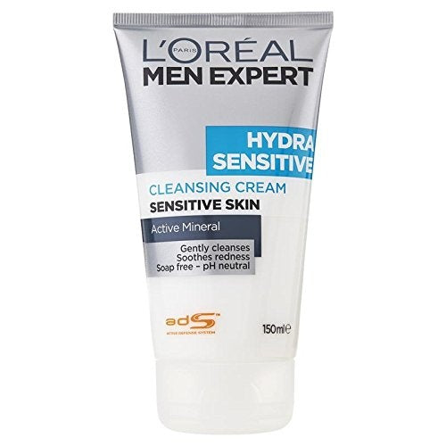 L'Oreal Men Expert Hydra Sensitive Cleansing Cream 150ml