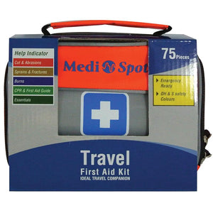 Medi Spot Travel First Aid Kit 75 Pieces