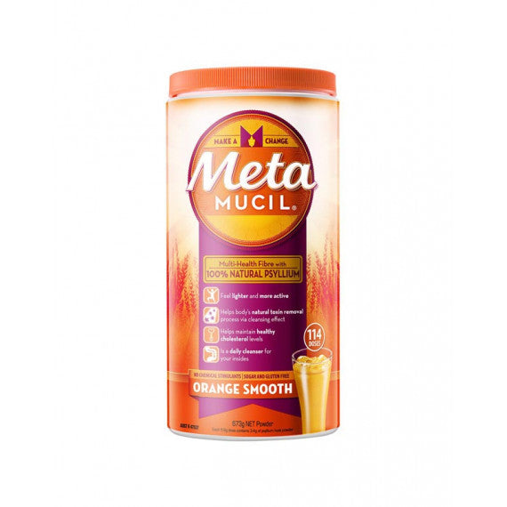 Metamucil Smooth Orange 114 Doses 673g