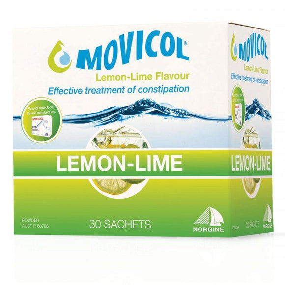 Movicol Lemon-Lime Flavour 30 Sachets