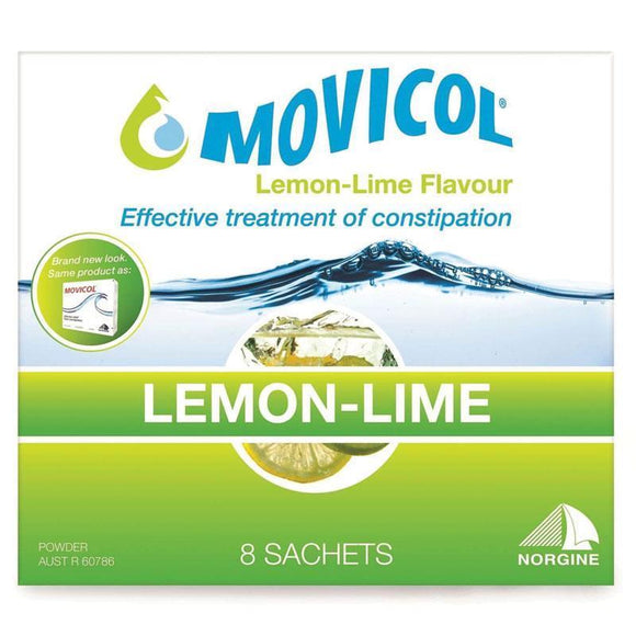 Movicol Lemon-Lime Flavour 8 Sachets