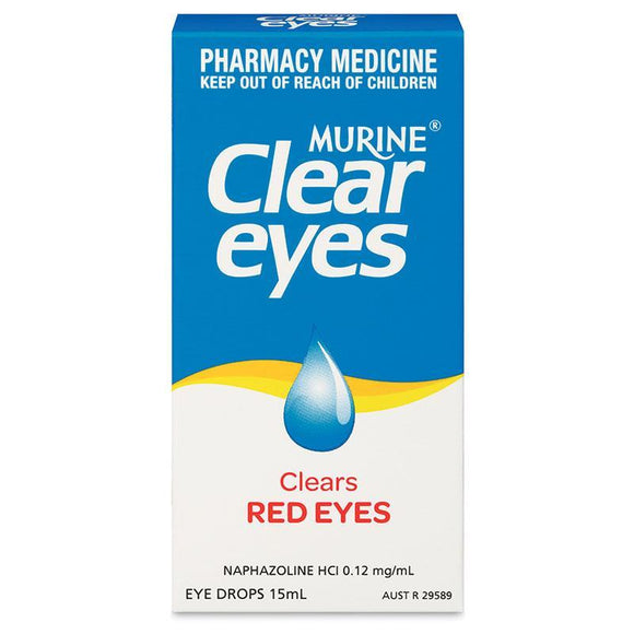 Murine Clear Eyes Eye Drops 15mL