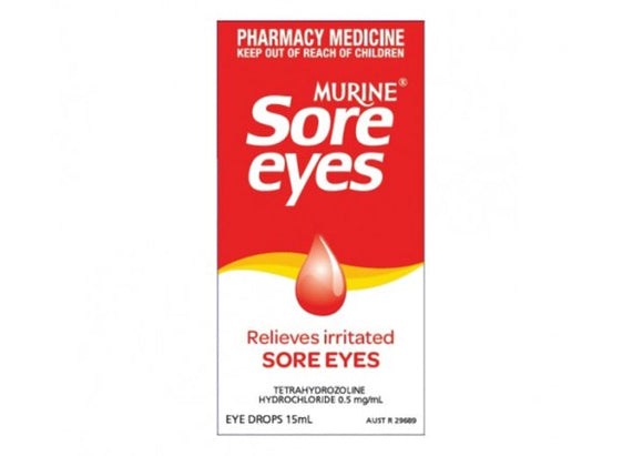 Murine Sore Eyes Eye Drops 15mL