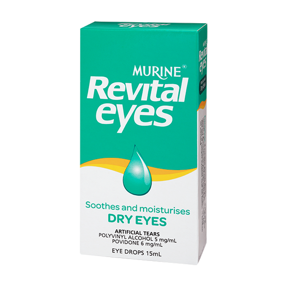 Murine Revital Eyes Eye Drops 15mL
