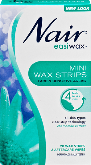 Nair Easiwax Mini Strips 20 Pack